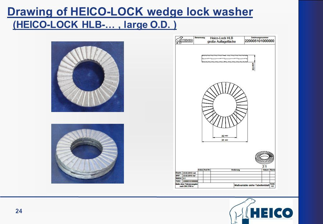 Heico Lock Wedge-Lock Washers