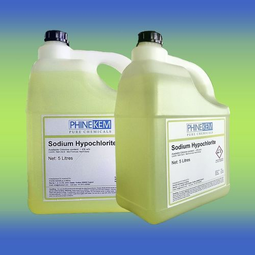 Sodium Hypochlorite 5 Lt Jar