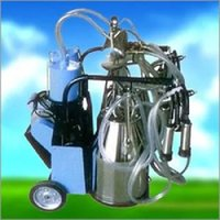 Piston Type Double Bucket cow Milking Machine