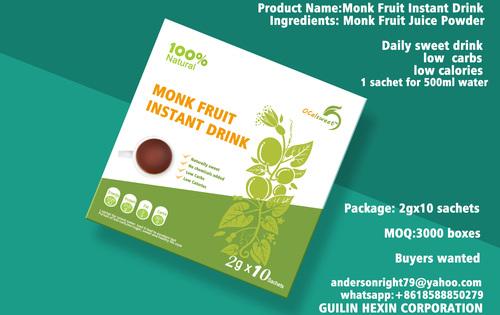 Monk Fruit Instant Drink