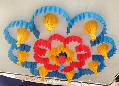 Color Ceiling Tent