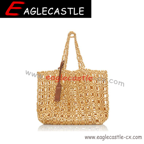 Fashionable Beaded Female Bag