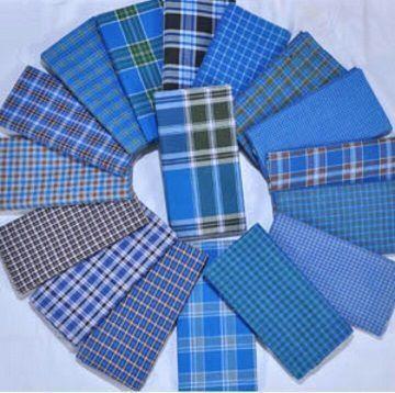 Check Cotton Lungi