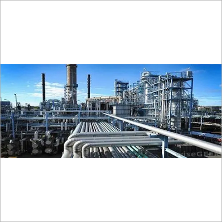 Chemical Plant Pipeline