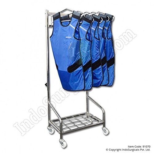 X ray lead jacket hanger