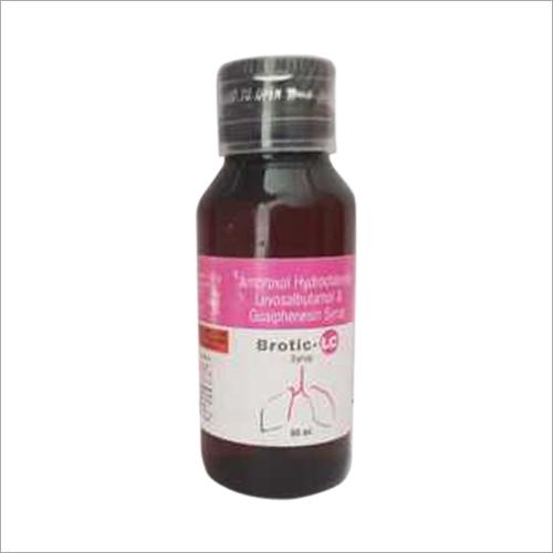 Ambroxol Hydrochloride Levosalbutamol And Guaiphenesin Syrup