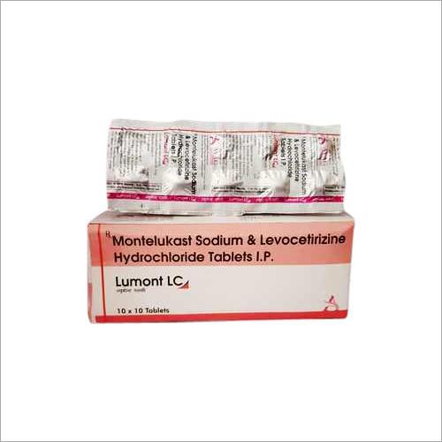 Montelukast Sodium And Levocetirizine Hydrochloride Tablets