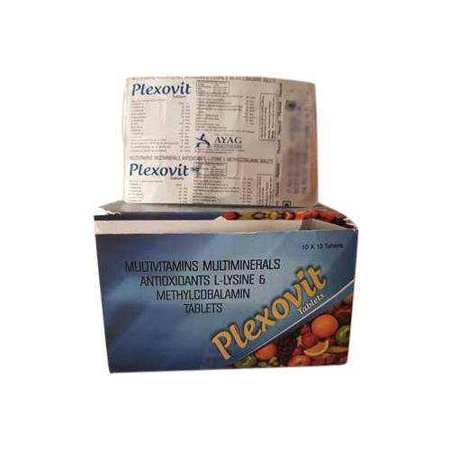 Multivitamin Multi Mineral Antioxidant L-lysine And Methylcobalamin Tablets