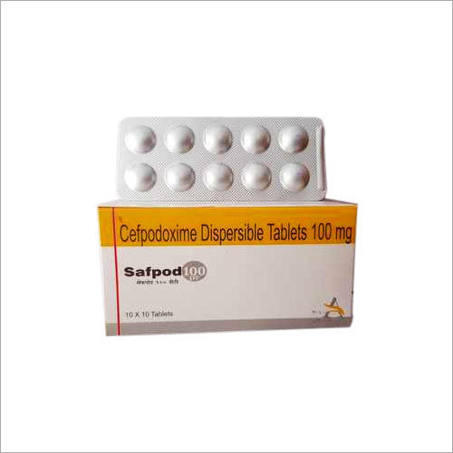 100 MG Cefpodoxime Dispersible Tablets