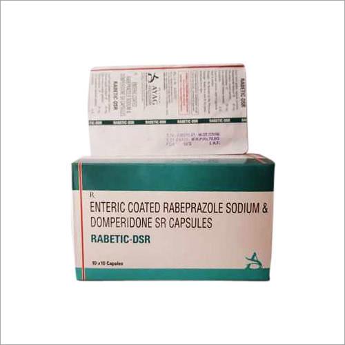 Enteric Coated Rabeprazole Sodium And Domperidone SR Capsules