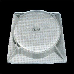 Circular Cover With Square Frame