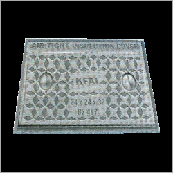 Cast Iron Square Cover With Frame