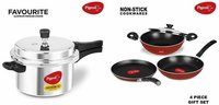 Pigeon By Stovekraft Favourite Induction Base Aluminum Pressure Cooker