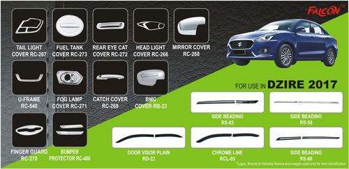 Dzire 2017 Car Accessories