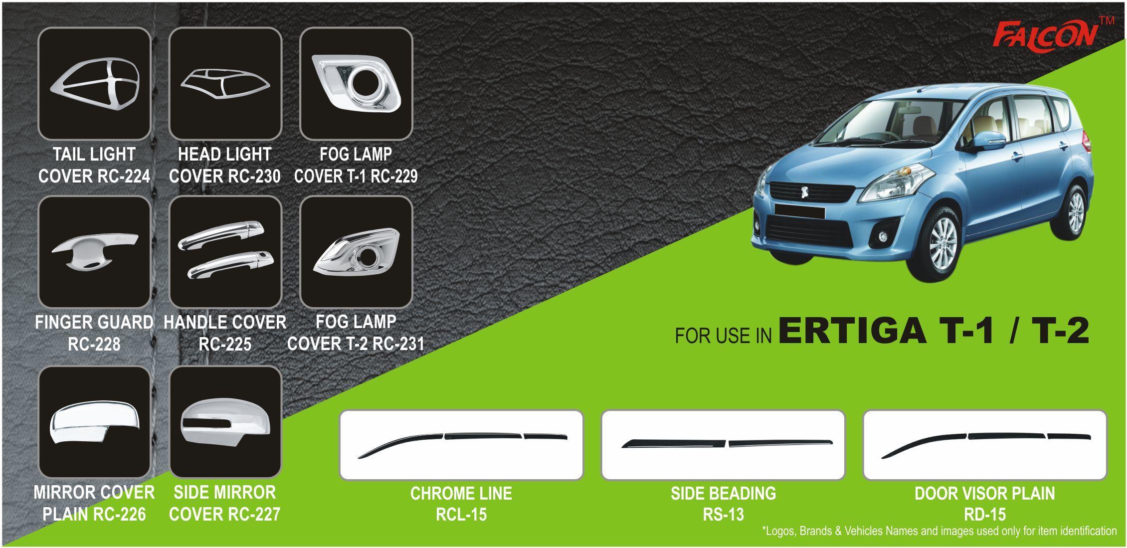 Ertiga 2018 Car Accessories