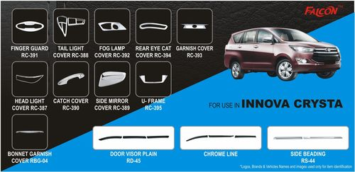 Innova Crysta Car Accessories