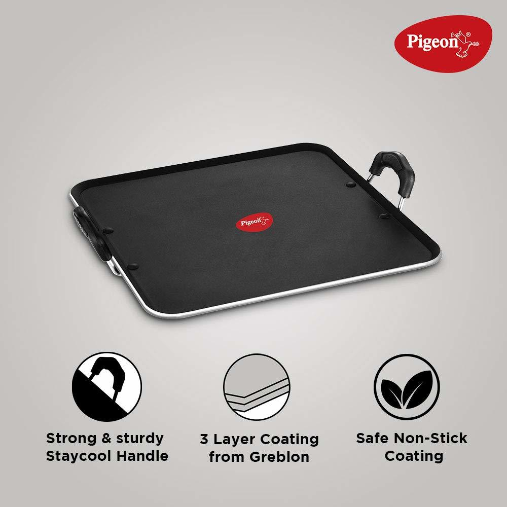 Pigeon by Stovekraft Non Stick 5mm Thickness Pathri Tawa, 32cm