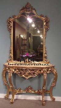 handcrafted wooden dresser