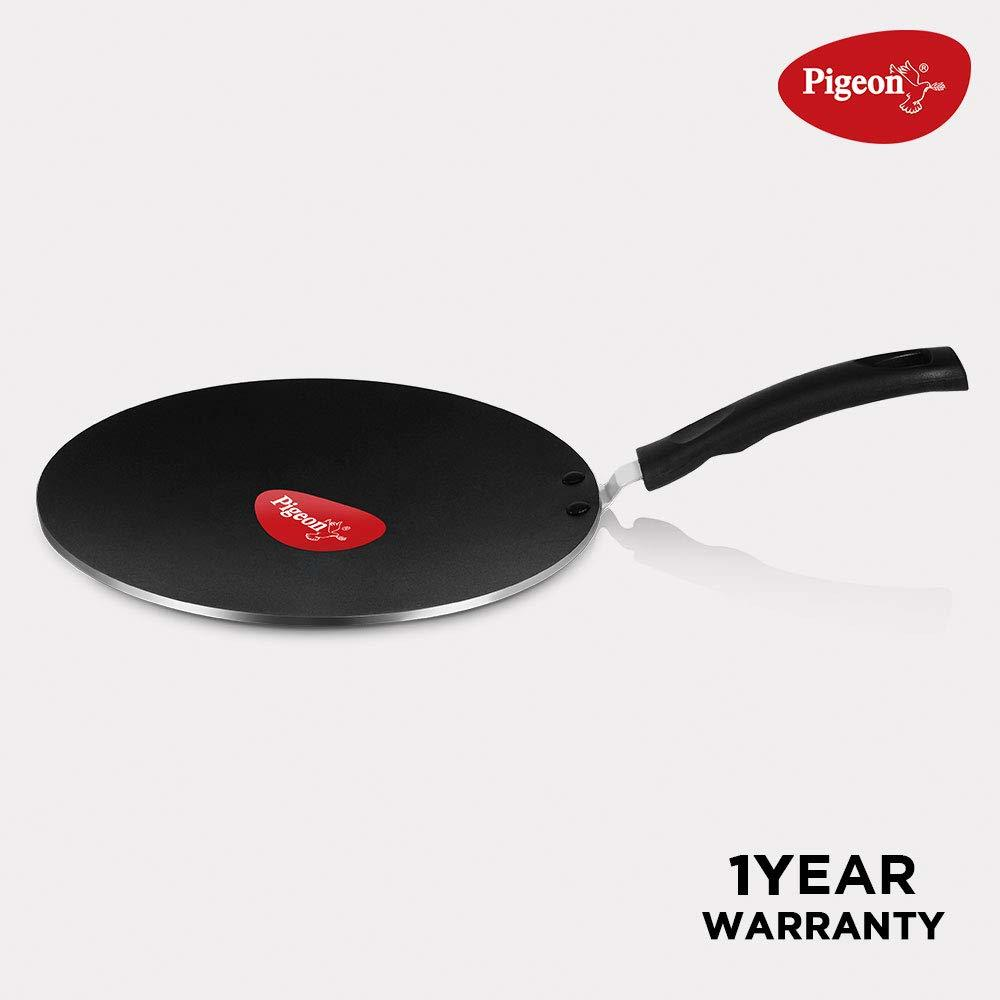 Pigeon by Stovekraft Non-Stick Concave Tawa, 27cm