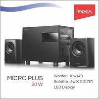 IMPEX Speaker 2.1 (MICRO PLUS)
