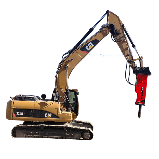 Hydraulic Rock Breaker with 1 inch Hose