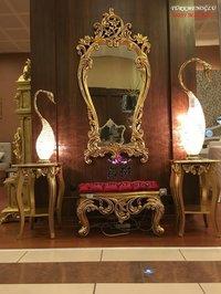 traditional wooden dresser
