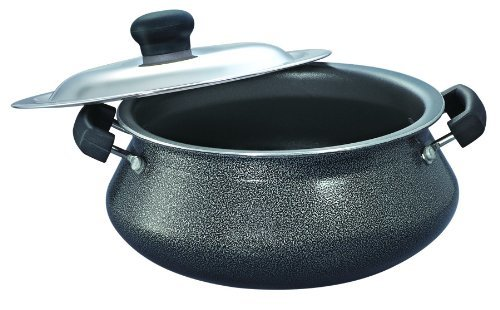 Prestige Omega Select Plus Mini Handi with SS Lid, 2.5 Litre, Black