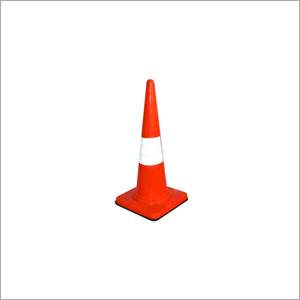 Safety Cone With Rubber Fitted