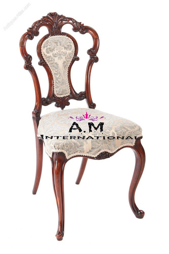 wooden handcrafted chair