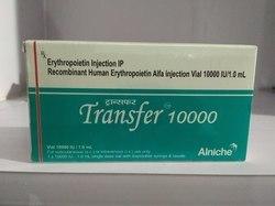 INJ TRANSFER 10000 Vial.