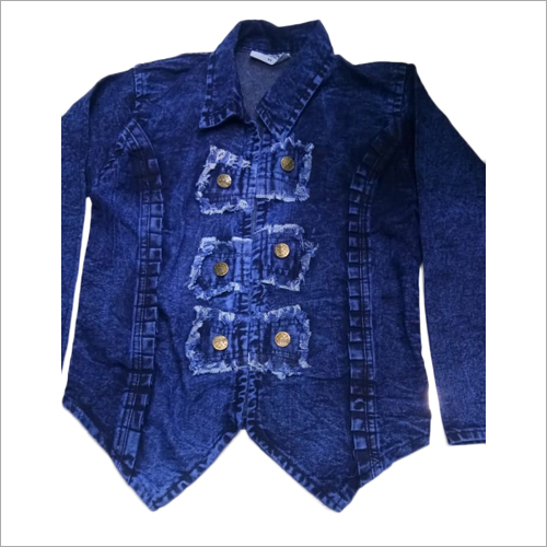 Designer Blue Denim Jacket