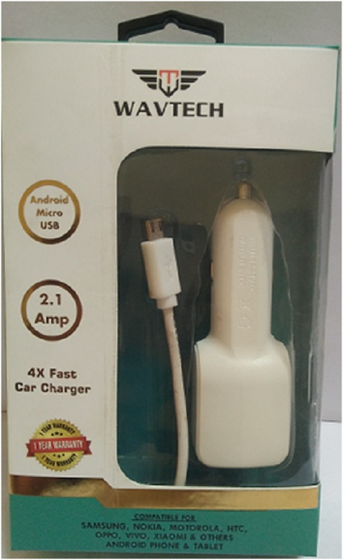 4X Fast car charger