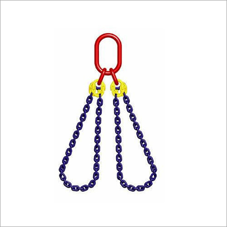 2 Legged Gr-80 Alloy Steel Chain Sling