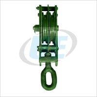 Double Sheave Wire Rope Pulley Block