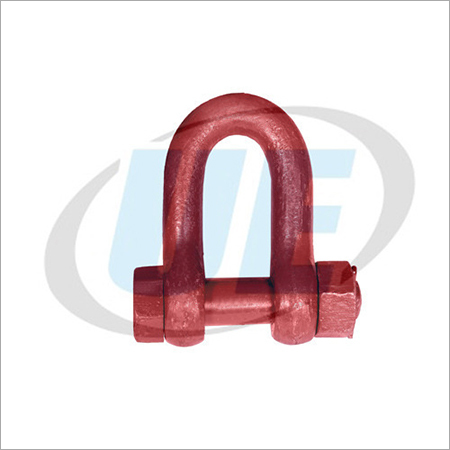 D Shackle (MS) Nut Bolt Type