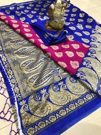 designer banarasi art silk saree