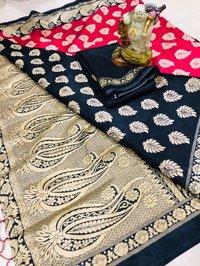 designer banarasi art silk saree