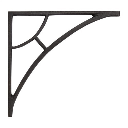Black Iron Shelf Bracket