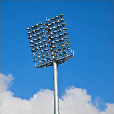 Stadium Floodlight Pole