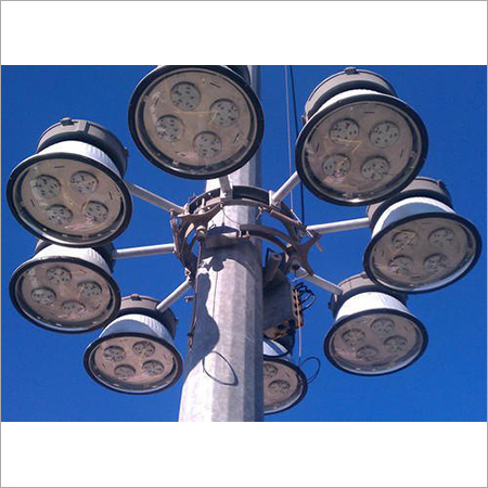 Polygonal High Mast Stadium Lighting Pole