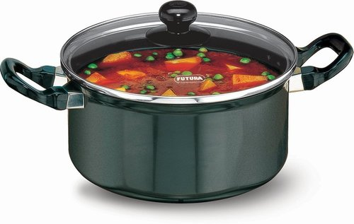 Hawkins Futura Non-Stick Stewpot with Glass Lid, 3 litres