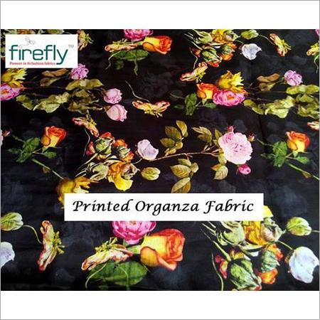 Printed Organza Fabrics