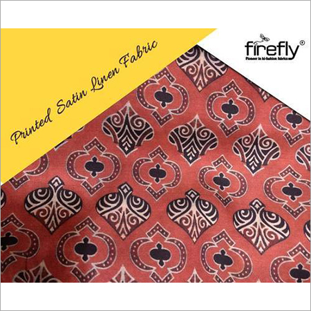 Satin Linen Fabrics
