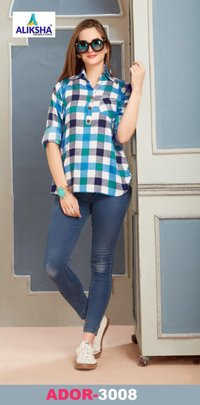 140 Gm Rayon Short Top