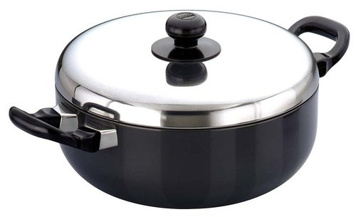 Hawkins Futura Non-Stick All-Purpose Pans with Steel Lid, 3.0 litres