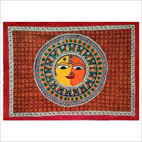 Decorative Madhubani Wall Painting