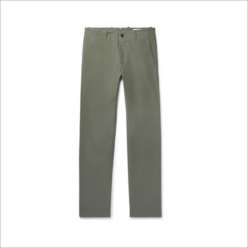 Mens Plain Chinos