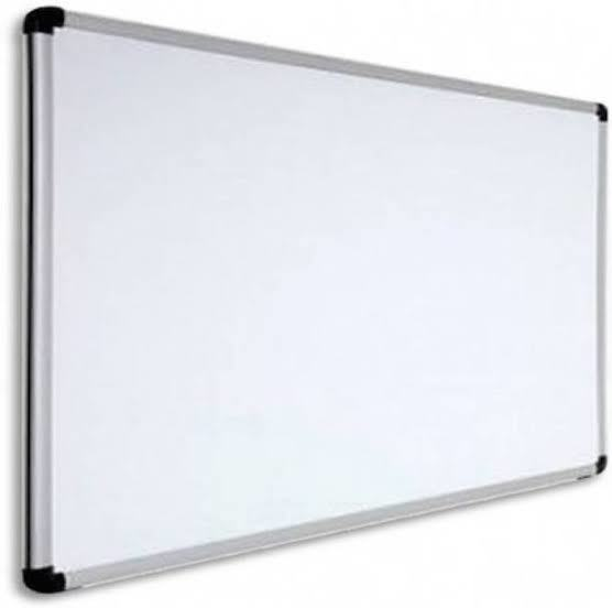Ceramic Magnetic Board White /Green 7x4