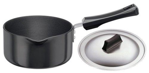 Hawkins Futura Hard Anodised Sauce Pan with Lid