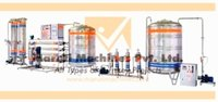 Automatic three phase pure water plant